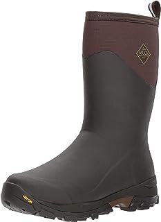 Muck Boot 北极冰冷 条件 中高 橡胶 男式冬季靴 北极抓地外底