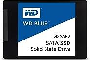 Western Digital 西部数据 Blue 3D NAND 1TB 内置 PC 固态硬盘-SATA III 6 Gb/s,2.5 英寸 /7 毫米,高达 560 MB/s-WDS100T2B0A