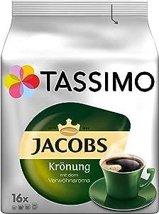 Tassimo Jacobs Krönung 咖啡,5包咖啡T Discs(5 x 16杯)
