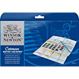 Winsor & Newton Cotman 水彩颜料,一组 24 种色调色盘