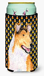 Collie Smooth Candy Corn Halloween Portrait Michelob Ultra Koozies for slim cans SS4263MUK 多色 Tall Boy