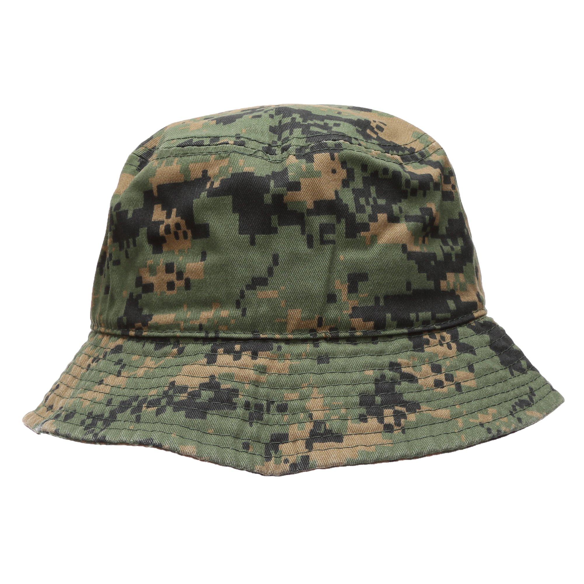 MIRMARU夏の綿ストーンウォッシュとパック*屋外バケツの帽子を釣り。