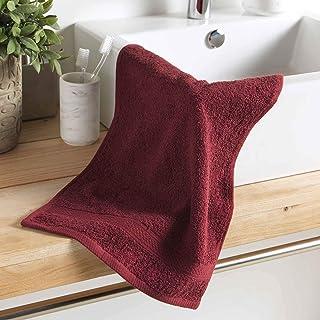 Douceur d'Intérieur Colors 客用毛巾 * 纯棉 勃艮*红 30 × 50 厘米
