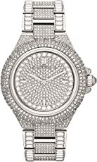 Michael Kors Women's Camille MK5869 Silver Stainless-Steel Quartz Fashion Watch