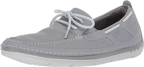 Clarks 男士 Step Maro Wave 船鞋