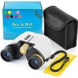 儿童双筒望远镜 – 高分辨率,防震 – 8X22 儿童双筒望远镜,适合看鸟儿,男孩、女孩的*佳礼物 – 户外幼儿游戏的真实光学套装 – 侦探和间谍儿童玩具