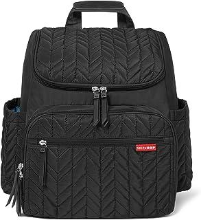 Skip Hop Forma双肩妈咪包 多功能婴儿旅行包 带换尿布垫 ,深黑