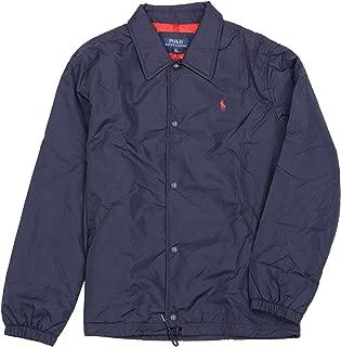 Polo Ralph Lauren 保罗拉夫劳伦印花标志风衣尼龙教练夹克
