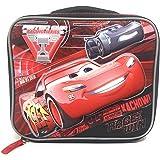 Disney 汽车总动员男童保温学校午餐包,麦昆 3D 弹出式模压设计