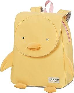 Samsonite 新秀丽 Happy Sammies 环保儿童帆布背包 S + 32 厘米 11 L Duck Dodie 黄色