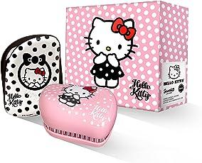 Tangle Teezer 礼盒套装 Hello Kitty(Hello Kitty 黑色波点豪华便携美发梳+Hello Kitty 粉色波点豪华便携美发梳)(进)