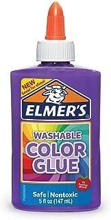 elmer's ' s 可水洗颜色和胶水紫色12盎司非常适合 MAKING Slime