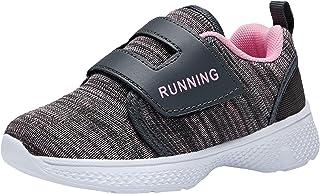 adituo 幼童/小童男孩女孩轻质透气运动鞋带运动跑步散步运动鞋