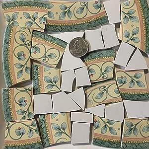 马赛克艺术和工艺品用品 *和黄色花砖 tile_C494 tile_C494_az