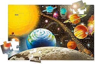 Melissa&Doug 美麗莎和豆豆 太陽系積木拼圖 (48 片)