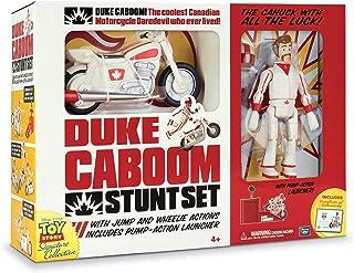 MTW Toys 64441 – 迪士尼皮克斯玩具總動員4,Stuntman Duke Caboom 帶自行車
