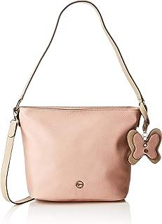 Tamaris 女士 Aurora Hobo Bag S 单肩包 3 x 29 x 35 厘米 Pink (Rose Comb.) 3x29x35 cm (W x H x L)