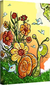 ArtWall 'Under The Shell' Gallery Wrapped Canvas Art by Luis Peres, 14 by 18-Inch