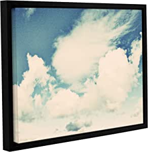 """ArtWall Elana Ray's Clouds on a Beautiful Day Gallery Wrapped Floater Framed Canvas, 14 x 18"""", Multicolor"""