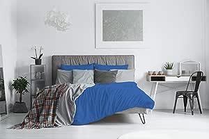 ELEGANT cp-el-Royyal-2 pst 羽绒被套套装,超细纤维,蓝色,双人床,200 x 250 cm x 1,3 件
