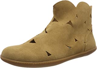 El Naturalista 中性成人 N5282 Lux 仿麂皮驼色/El Viajero 经典靴子