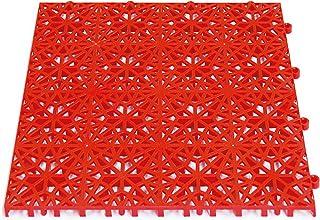 Miltex 11104 铁锈,瑜伽垫 30 x 30 CM,11 片 1 M2 红色