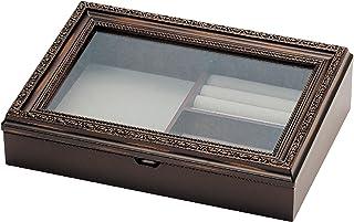 复古风小物品收纳 nouvm ノーム 首饰盒  ブラウン L Lサイズ