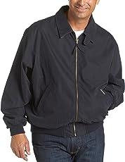 防风雨男式超细纤维经典高尔夫夹克