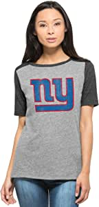 '47 NFL 女式 Empire T 恤 复古灰色 大