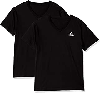 Adidas 阿迪达斯 T恤 V领 2件装 男士
