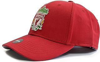 利物浦足球俱乐部红色徽章帽 - EPL 正品