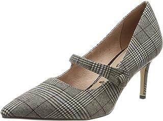 Tamaris 女士1-1-24411-33 901 高跟鞋 Mehrfarbig (Tartan 901) 38 EU