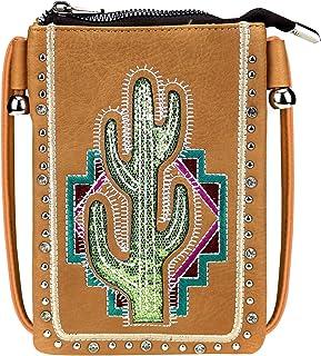女式小号斜挎钱包,背面有手机袋