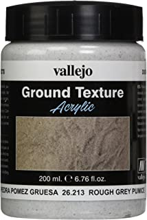 Vallejo Model Color 200 毫升宝石纹理 Rough Grey Pumice