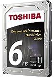 Toshiba 东芝 X300 台式 3.5 英寸 SATA 6Gb/s 7200rpm 内部硬盘驱动器 6 TB