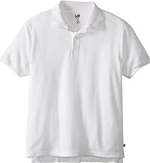 Lee 青少年男孩现代版短袖Polo衫