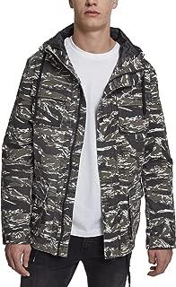 都市经典男式 TIGER 迷彩棉夹克