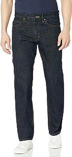Lee mens 标准合身直筒牛仔裤 Ringer 40W x 34L