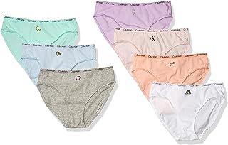 Calvin Klein 女童棉质内裤比基尼内裤,7 件装