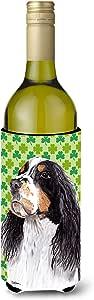 Springer Spaniel St. Patrick's Day Shamrock Portrait Michelob Ultra Koozies for slim cans SC9281MUK 多色 750 ml