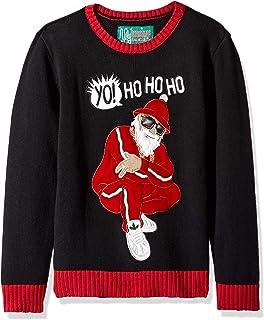 "Ugly Christmas Sweater Company 大男孩 (8-20)"" Yo Ho 圣诞毛衣"