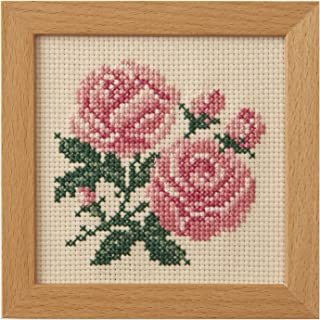 LECIEN 刺绣套装 小花框 十字绣 玫瑰 851