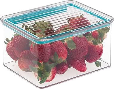 InterDesign Pantry 食品储藏箱,适用于带空气紧铰链盖的厨房 - 1.5 夸脱 超小号 X-S 61383