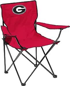 Logo Chair NCAA College Quad Chair 红色 Regular