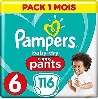 Pampers 帮宝适 Baby Dry 尿布,纸尿裤 Pants Gr. 6 116