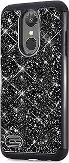 LG Aristo 2 / LG Aristo 3 / Rebel 4 LTE / Aristo 2 Plus / Tribute Dynasty/Empire/Zone 4/Phoenix 4/Fortune 2/Risio 3/K8 2018手机壳,闪光闪亮闪亮重型混合硬质硅胶手机壳, LG Aristo 2