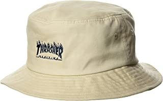 Thrasher 男女通用 漁夫帽 (品牌標志) [ 20TH-H02 / FLAME LOGO HAT ] 帽子 時髦 BGE US FR (均碼)