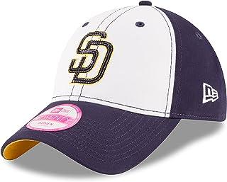 New Era MLB 女式球队亮光 9TWENTY 可调节棒球帽