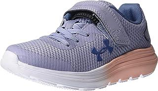 Under Armour 安德玛 男女同款 Preschool Surge 2 Alternative Closure 运动鞋 Purple Dusk (500)/Peach Frost, 11K