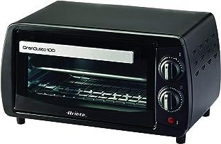 Ariete 980 - 迷你烤箱,800W,容量 10升,定时器和温度控制,黑色